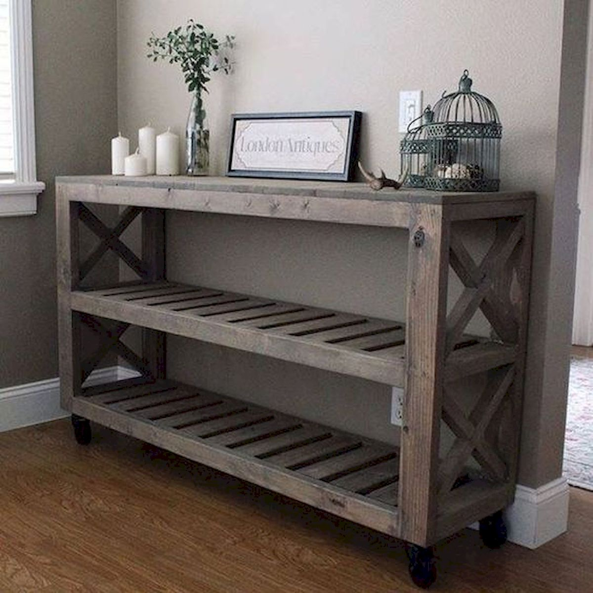 45 Easy and Cheap DIY Wood Furniture Ideas for Small House (12)