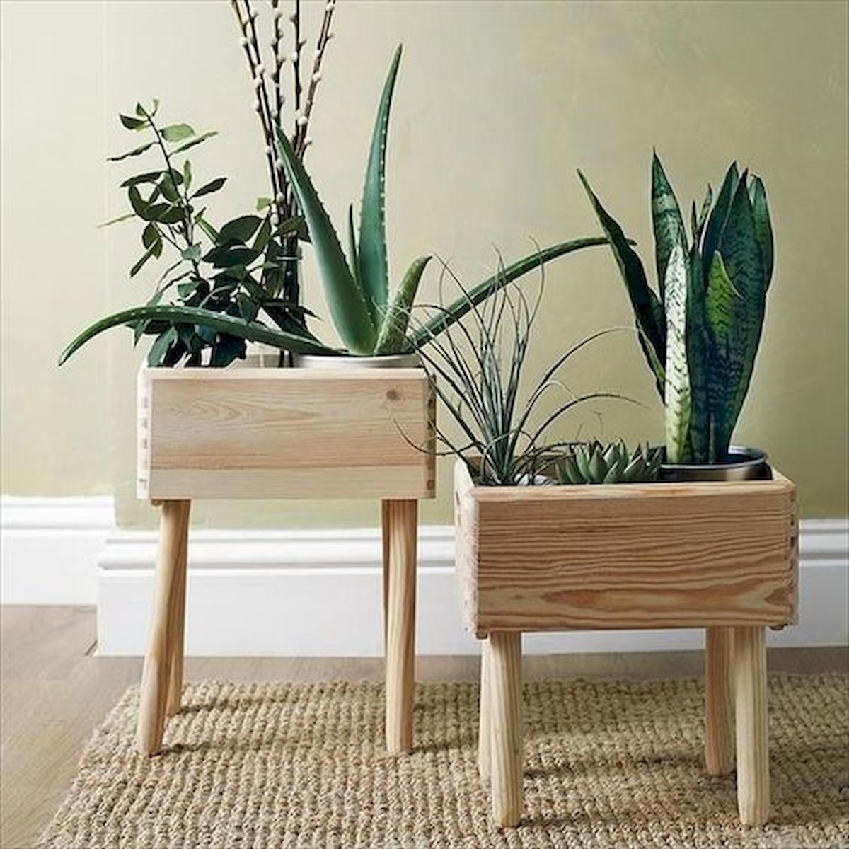 45 Easy and Cheap DIY Wood Furniture Ideas for Small House (44)