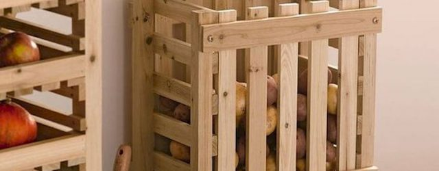 30 Creative DIY Kitchen Storage Ideas for Fruit and Vegetable (1)