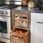 30 Creative DIY Kitchen Storage Ideas For Fruit And Vegetable (24)