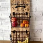 30 Creative DIY Kitchen Storage Ideas For Fruit And Vegetable (9)