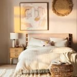 20 Awesome Boho Farmhouse Bedroom Decor Ideas and Remodel (15)