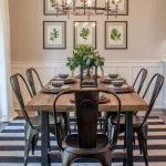 20 Awesome Farmhouse Dining Room Decor Ideas and Remodel (11)