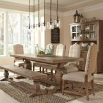 20 Awesome Farmhouse Dining Room Decor Ideas and Remodel (12)