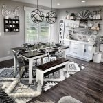 20 Awesome Farmhouse Dining Room Decor Ideas and Remodel (13)
