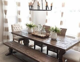 20 Awesome Farmhouse Dining Room Decor Ideas and Remodel (14)