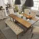 20 Awesome Farmhouse Dining Room Decor Ideas and Remodel (15)