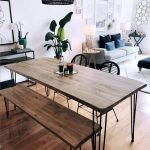 20 Awesome Farmhouse Dining Room Decor Ideas and Remodel (16)