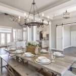 20 Awesome Farmhouse Dining Room Decor Ideas and Remodel (19)