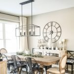 20 Awesome Farmhouse Dining Room Decor Ideas and Remodel (9)