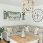 20 Awesome Farmhouse Living Room Decor Ideas and Remodel (1)