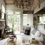 20 Awesome Farmhouse Living Room Decor Ideas and Remodel (10)