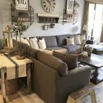 20 Awesome Farmhouse Living Room Decor Ideas and Remodel (15)