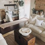 20 Awesome Farmhouse Living Room Decor Ideas and Remodel (2)
