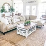 20 Awesome Farmhouse Living Room Decor Ideas and Remodel (6)