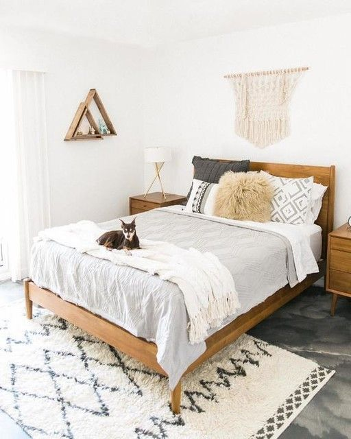 20 Awesome Small Farmhouse Bedroom Decor Ideas And Remodel (1)