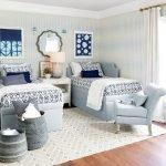 20 Beautiful Coastal Farmhouse Bedroom Decor Ideas and Remodel (10)