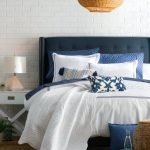 20 Beautiful Coastal Farmhouse Bedroom Decor Ideas and Remodel (13)