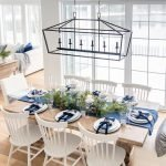 20 Beautiful Farmhouse Dining Room Table Decor Ideas And Remodel (12)