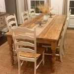 20 Beautiful Farmhouse Dining Room Table Decor Ideas and Remodel (15)