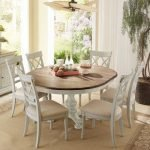 20 Beautiful Farmhouse Dining Room Table Decor Ideas and Remodel (17)