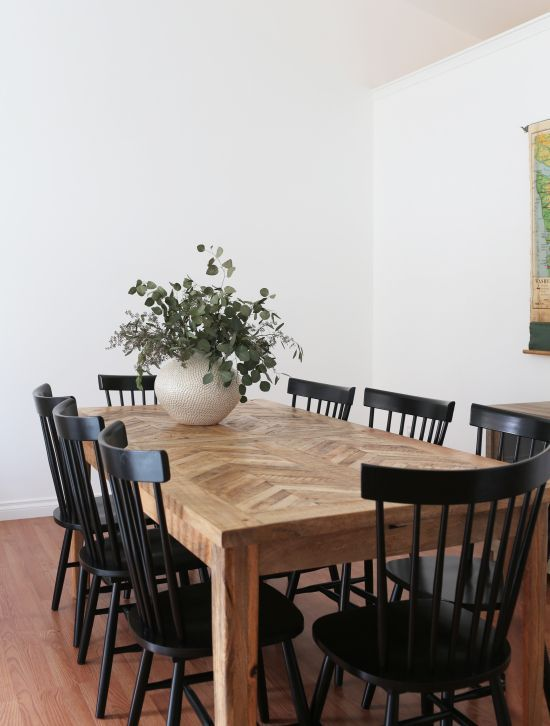 20 Beautiful Farmhouse Dining Room Table Decor Ideas And Remodel (2)