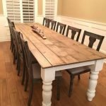 20 Beautiful Farmhouse Dining Room Table Decor Ideas and Remodel (20)