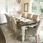 20 Beautiful Farmhouse Dining Room Table Decor Ideas And Remodel (5)