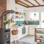 20 Beautiful Farmhouse Kitchen Backsplash Decor Ideas and Remodel (1)