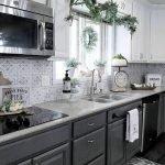20 Beautiful Farmhouse Kitchen Backsplash Decor Ideas and Remodel (14)