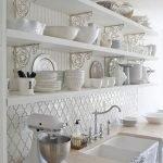 20 Beautiful Farmhouse Kitchen Backsplash Decor Ideas and Remodel (19)