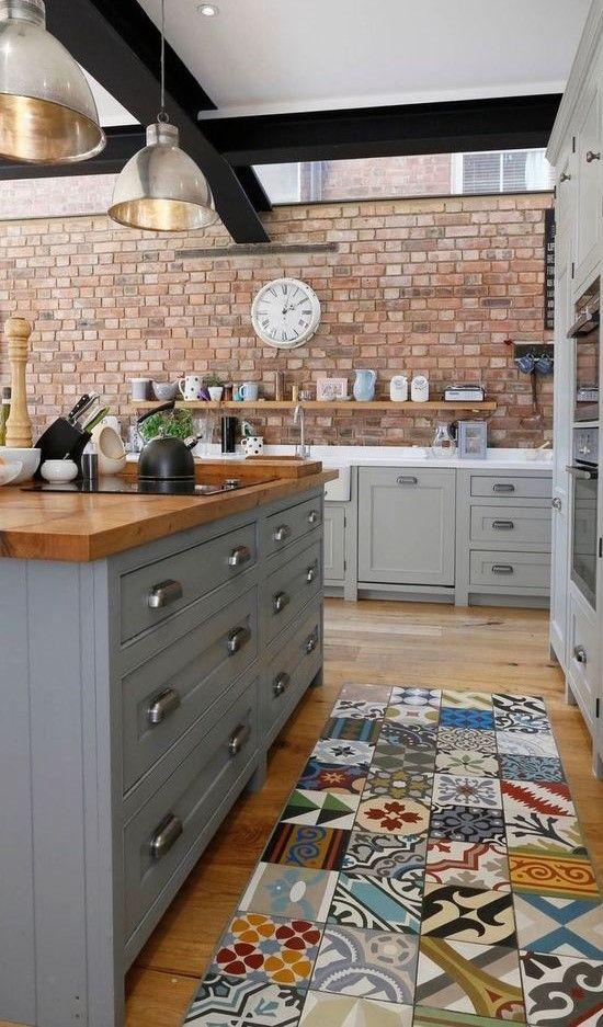 20 Beautiful Farmhouse Kitchen Backsplash Decor Ideas And Remodel (2)