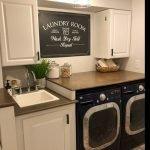 20 Beautiful Farmhouse Laundry Room Decor Ideas and Remodel (13)