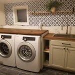 20 Beautiful Farmhouse Laundry Room Decor Ideas and Remodel (16)