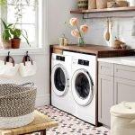 20 Beautiful Farmhouse Laundry Room Decor Ideas and Remodel (7)