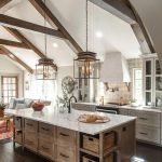 20 Beautiful Modern Farmhouse Kitchens Decor Ideas and Remodel (1)