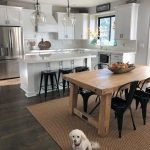 20 Beautiful Modern Farmhouse Kitchens Decor Ideas and Remodel (16)