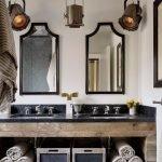 20 Best Farmhouse Bathroom Lighting Decor Ideas And Remodel (1)