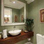 20 Best Farmhouse Bathroom Lighting Decor Ideas And Remodel (13)