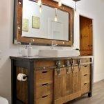 20 Best Farmhouse Bathroom Lighting Decor Ideas And Remodel (14)