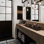 20 Best Farmhouse Bathroom Lighting Decor Ideas And Remodel (3)
