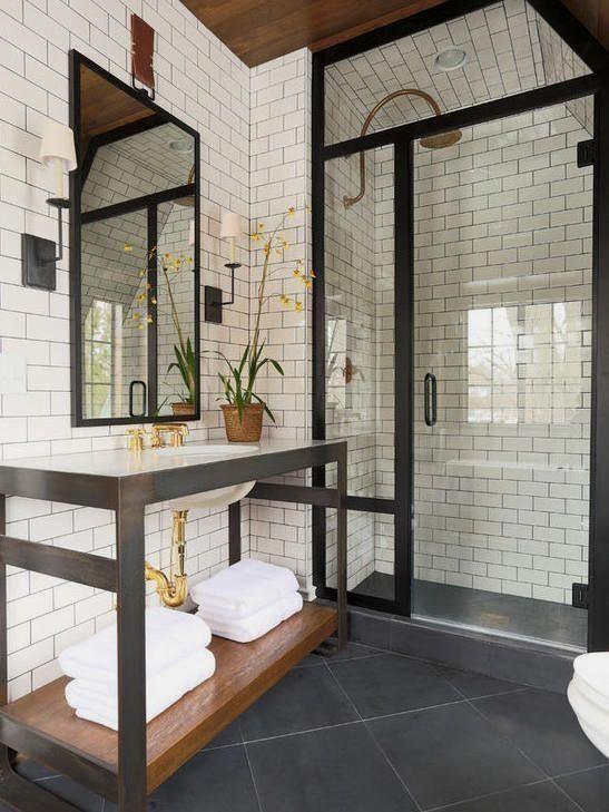20 Best Farmhouse Bathroom Lighting Decor Ideas And Remodel (5)