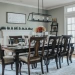 20 Best Farmhouse Dining Room Lighting Decor Ideas And Remodel (16)