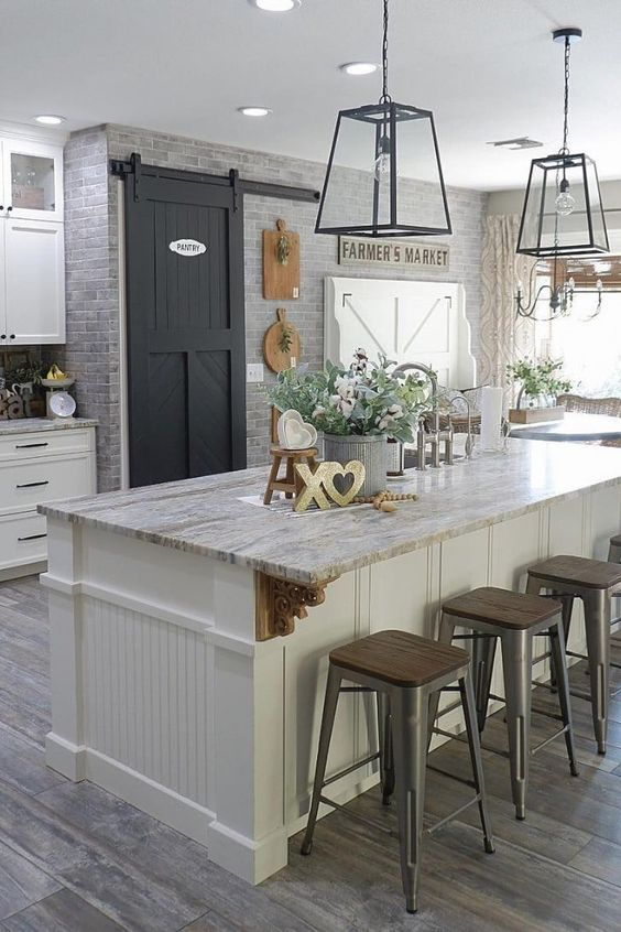 20 Best Farmhouse Kitchen Lighting Decor Ideas and Remodel (1)