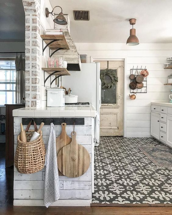 20 Best Farmhouse Kitchen Lighting Decor Ideas and Remodel (3)