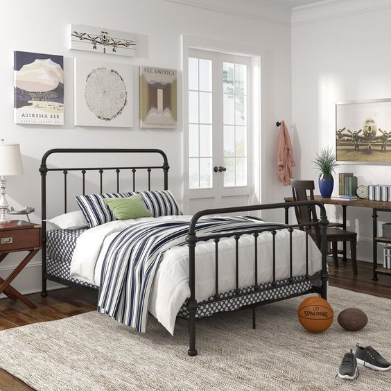 20 Best Industrial Farmhouse Bedroom Decor Ideas and Remodel (1)