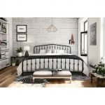 20 Best Industrial Farmhouse Bedroom Decor Ideas And Remodel (17)