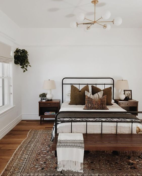 20 Best Industrial Farmhouse Bedroom Decor Ideas and Remodel (5)