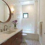20 Stunning Farmhouse Bathroom Tile Decor Ideas and Remodel (18)