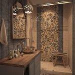 20 Stunning Farmhouse Bathroom Tile Decor Ideas And Remodel (9)